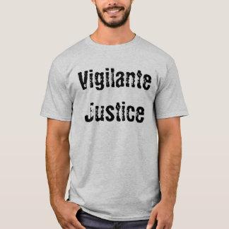 Justicia del vigilante playera