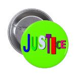 Justicia en el botón B del color Pin