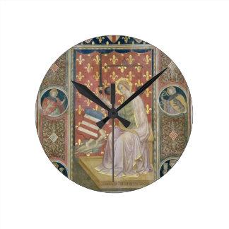 Justicia militante, del Salone del Consiglio (C Reloj Redondo Mediano