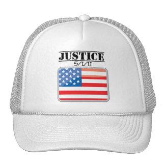 Justicia para América 5/1/11 Gorros Bordados