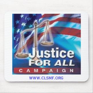 Justicia para toda la campaña alfombrilla de ratón