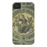 Justicia por Raphael, arte renacentista del vintag iPhone 4 Case-Mate Fundas