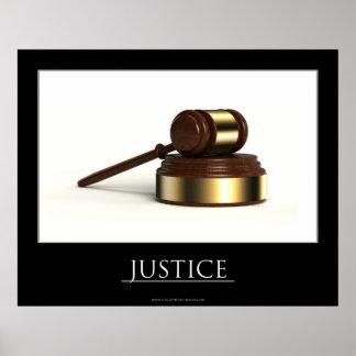Justicia Póster