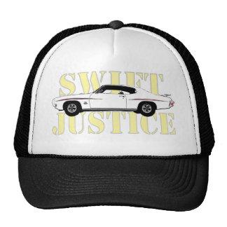 Justicia rápida gorras de camionero