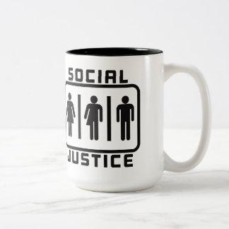 JUSTICIA SOCIAL: Ley del cuarto de baño de la Taza De Dos Tonos