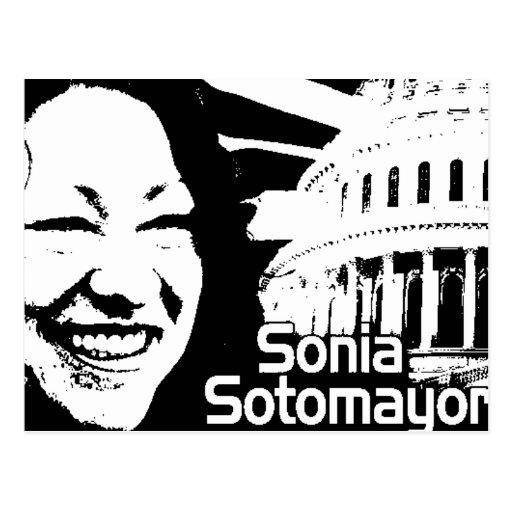 Justicia Sonia Sotomayor Tarjetas Postales