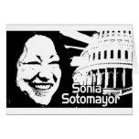 Justicia Sonia Sotomayor Tarjeton