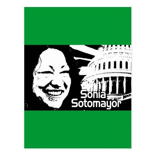 Justicia Sotomayor Tarjeta Postal
