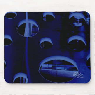 Justifiably Blue Mouse Pad