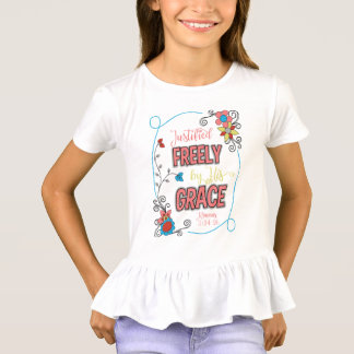 Justified Freely Girl's Flouncy T-Shirt