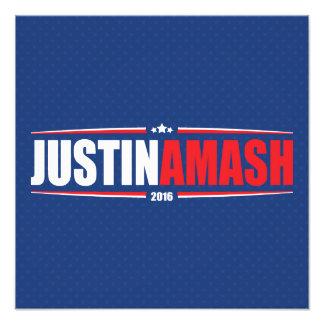 Justin Amash 2016 (estrellas y rayas - azul) Impresiones Fotográficas