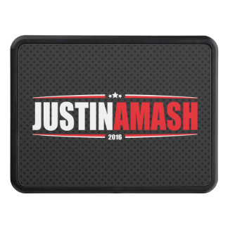 Justin Amash 2016 (Stars & Stripes - Black) Tow Hitch Cover