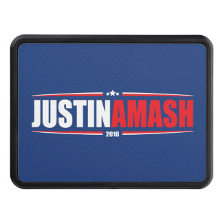 Justin Amash 2016 (Stars & Stripes - Blue) Trailer Hitch Cover