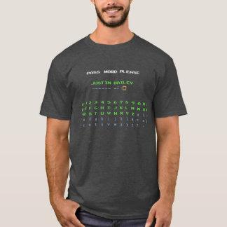 Justin Bailey Password T-Shirt