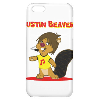 Justin Beaver Cover For iPhone 5C