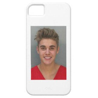 justin bibers mug shot iPhone SE/5/5s case