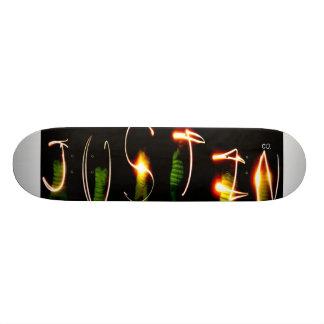 Justin Co. Skateboard Deck