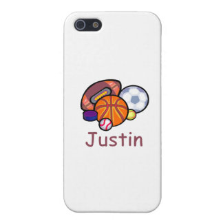 Justin iPhone 5 Cover