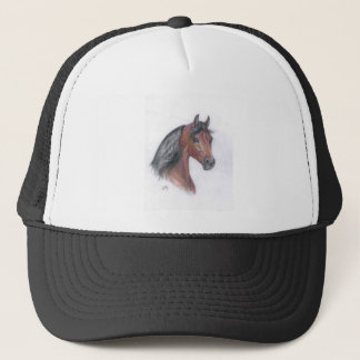 Justin Morgan Head Shot Trucker Hat