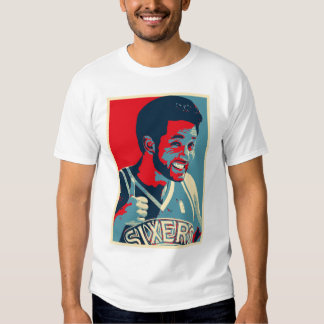 Justin Obama-Style Poster Edun Fitted T-Shirt