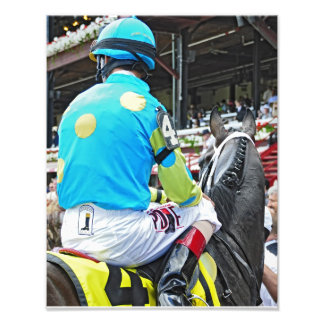 Justin Phillip captures the 2013 Vanderbilt Stakes Photo Print