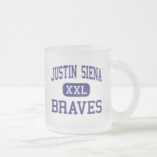 Justin Siena - Braves - alto - Napa California Taza Cristal Mate