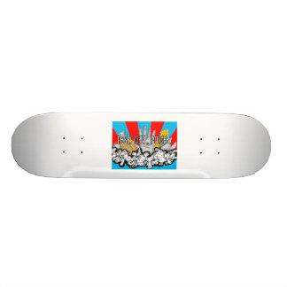 Justin skateboard