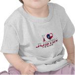 Justin, Tejas Camiseta