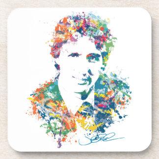 Justin Trudeau Digital Art Coaster
