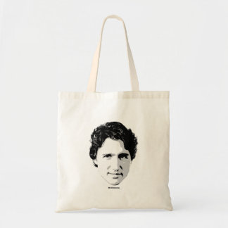 Justin Trudeau Head of Hair -.png Tote Bag