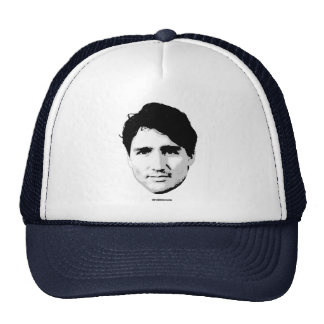 Justin Trudeau Head of Prime Minister -.png Trucker Hat