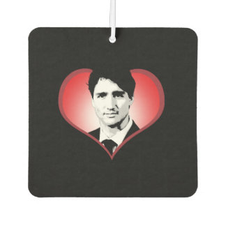 Justin Trudeau Heart -.png Air Freshener