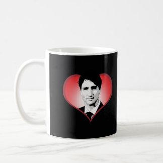 Justin Trudeau Heart -.png Coffee Mug