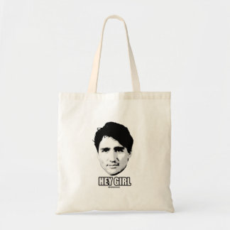 Justin Trudeau - Hey Girl --.png Tote Bag