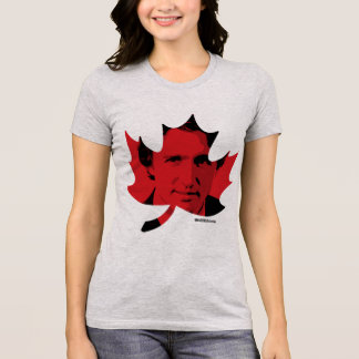 Justin Trudeau Maple Leaf T-Shirt