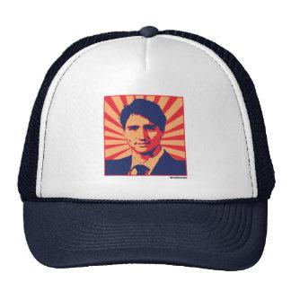 Justin Trudeau Propaganda Poster -.png Trucker Hat