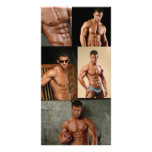 Justin Woltering Bodybuilder & Fitness Model Photo Photo Card