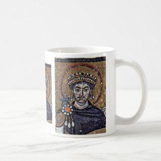 Justinian I, San Vitale (Ravenna) Choir Mosaics A Coffee Mug