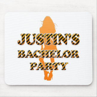 Justin's Bachelor Party Mouse Pad
