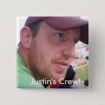 Justin's Semi-Colon Crew! Pinback Button