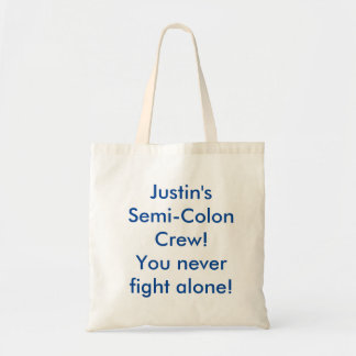 Justin's Semi-Colon Crew Tote