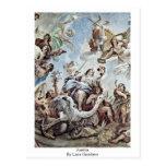 Justitia By Luca Giordano Postcard