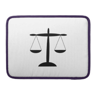 justizia MacBook pro sleeve