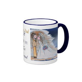 JustMarried bride and groom mug
