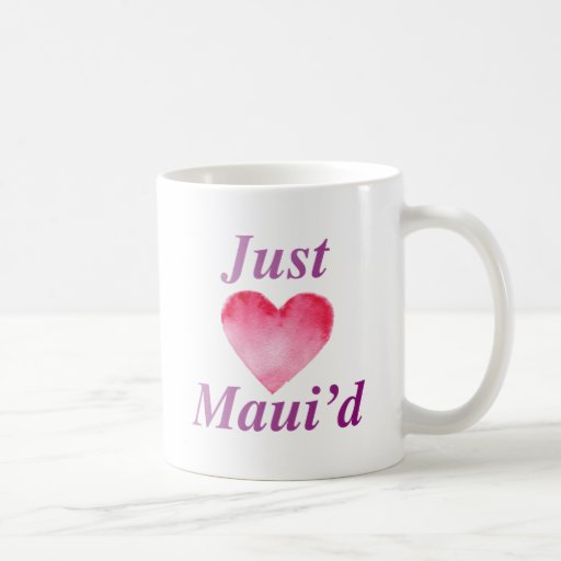 JustMauidHeart Just Maui'd Coffee Mug