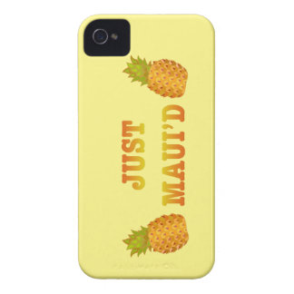 JustMauidPineapple iPhone 4 Case-Mate Funda