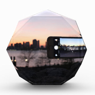 JustNowNear NYC Acrylic Award