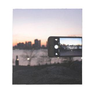 JustNowNear NYC Notepad