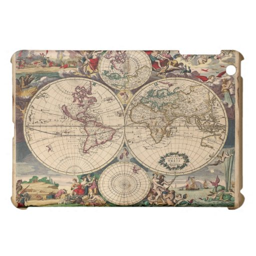 Justus Danckert's Classic Old World Map iPad Mini Case