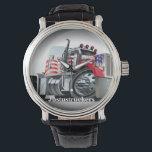 """Justustruckers Watch<br><div class=""""desc"""">Justustruckers wrist watch</div>"""